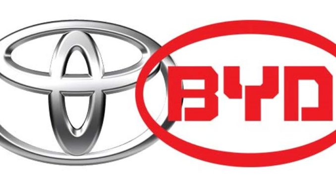 joint venture BYD Toyota