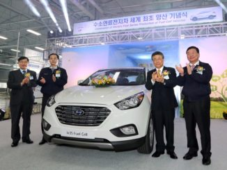 History Hyundai fuel cell
