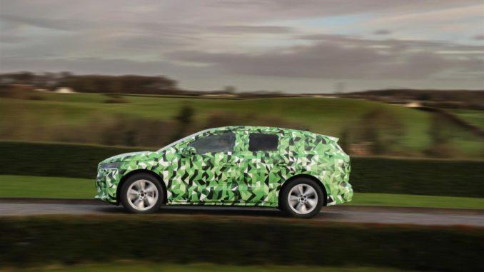 prototipi di Škoda Enyaq iV