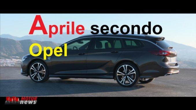 Opel aprile 2020