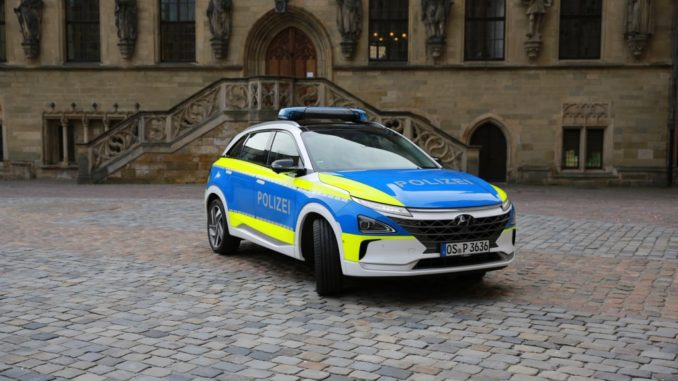 Hyundai alle forze di Polizia di diversi Paesi europei