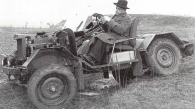 storia Peugeot 203 Rurale
