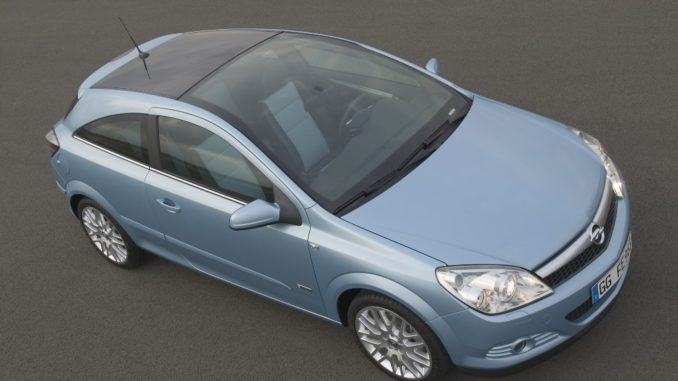 Storia. Opel Astra Diesel Hybrid
