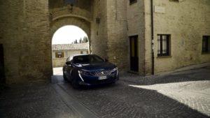Peugeot 508 SW GT Line alla scoperta del vino Sagrantino