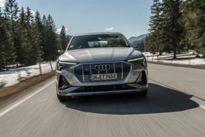 aerodinamica di Audi e-tron Sportback