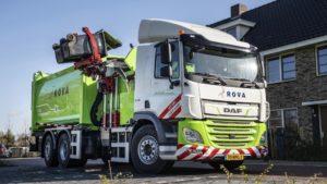 Camion elettrico raccolta spazzatura DAF