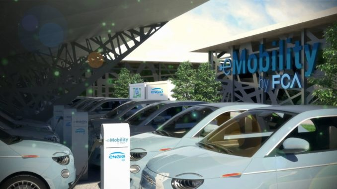 Vehicle-to-Grid da FCA ed ENGIE Eps