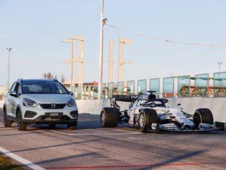Honda Jazz ibrida Formula 1