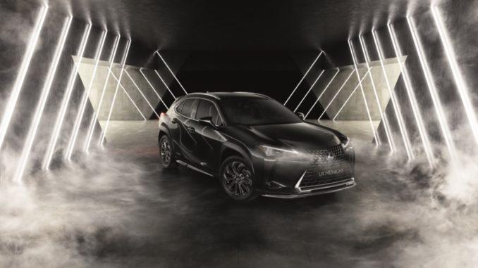 Midnight Edition di Lexus UX Hybrid