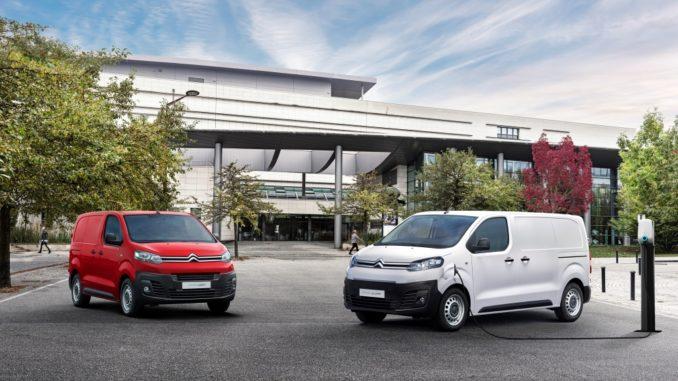 Nuovo Citroën ë-Jumpy