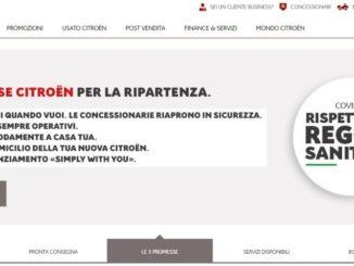 Restart Citroen Italia