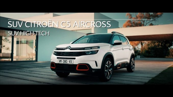 Citroën C5 Aircross è il SUV High Tec