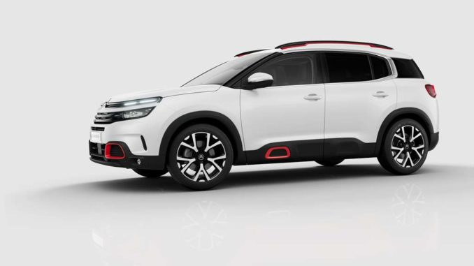sicurezza con le tecnologie del SUV Citroën C5 Aircross