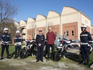 DSR Zero Motorcycles alla Polizia Municipale di Pistoia