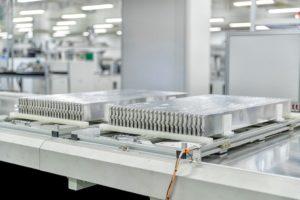 fabbrica di batterie a lama di BYD a Chongqing