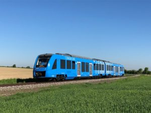 Alstom e Snam treni a idrogeno in Italia