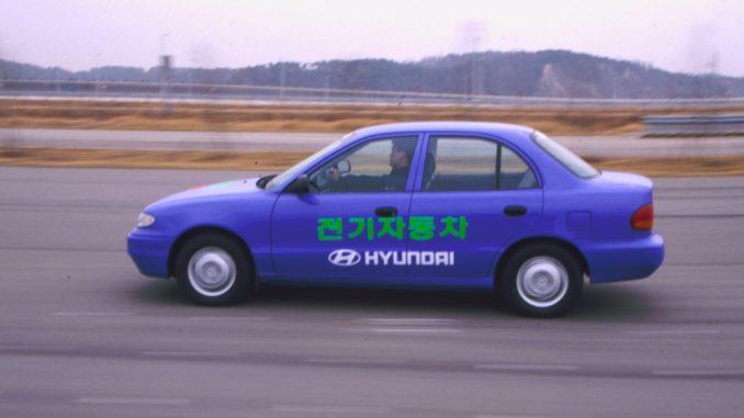 Hyudai storia EV