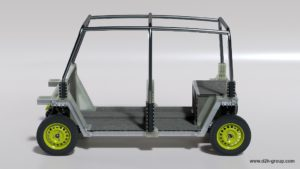 D2H Advanced Technologies Tuk Tuk