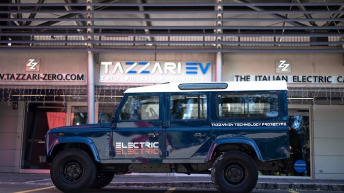 Tazzari EV Technology Defender 110