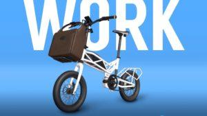Moto Parrilla e-bike pieghevole Trilix