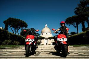 Acciona scooter sharing Roma