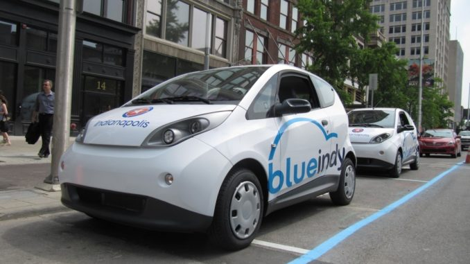 Bolloré BlueIndy car sharing