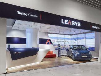 Leasys ricarica Torino Caselle