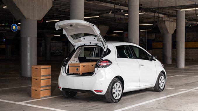 Nuova Renault Zoe Van