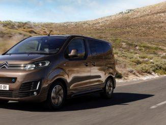 Citroën ë- SpaceTourer, il monovolume elettrico da 9 posti