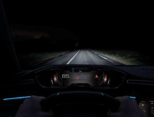 Peugeot 508 sistema Night Vision