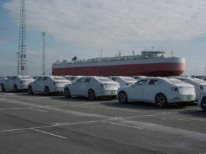 Zeebrugge le prime Polestar 2