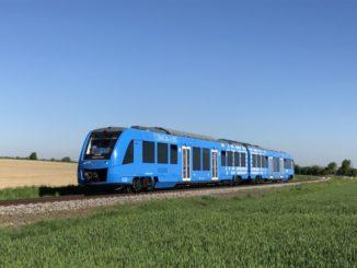 prima stazione di rifornimento idrogeno per treni