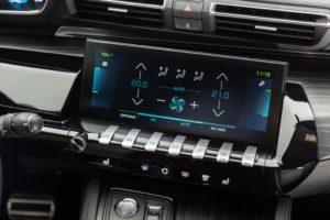 climatizzazione di Peugeot 208 e SUV Peugeot 2008