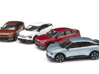 modellini Citroen Nuova C4 e ë-C4 – 100% ëlectric