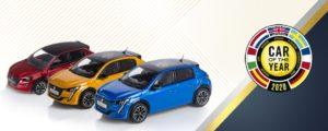 Disponibili i modellini in scala della Peugeot 208