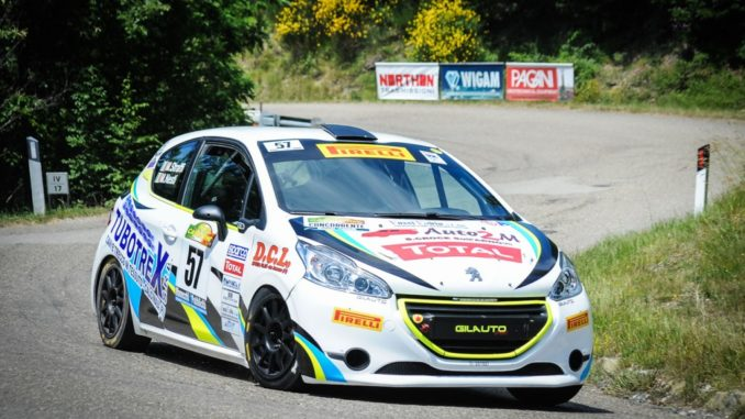Rally del Casentino nel Competition 208 Rally Cup Pro
