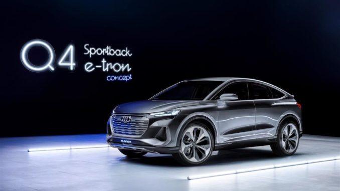 Audi Q4 Sportback e-tron concept