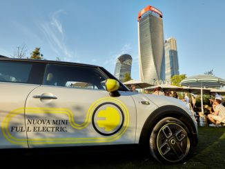 MINI Full Electric al GUD Milano Citylife