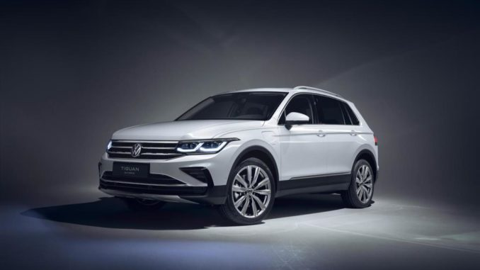 Volkswagen Tiguan, ora anche hybrid plug-in