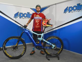 Thomas Oldrati in pista con le e-bike cross di Polini