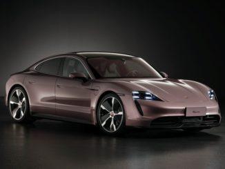 Porsche Taycan per il mercato cinese