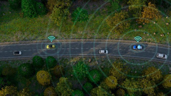mobilità del futuro, con auto connesse e smart road