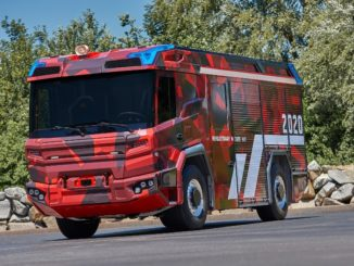 Volvo Penta Rosembauer camion elettrico pompieri