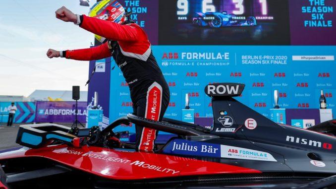 Rowland vince Formula E