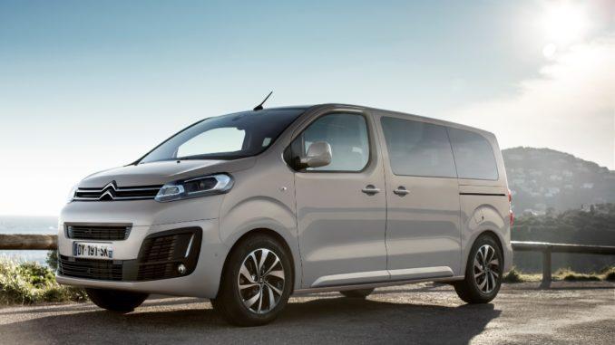 Citroën rinnova da agosto la gamma SpaceTourer in Italia