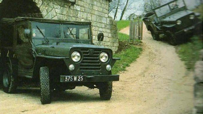 storia Peugeot 203 Rural 4x4