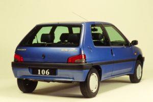 Peugeot 106 e Peugeot e-208
