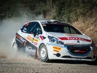 Alex Raschi con Peugeot 208 R2B campione