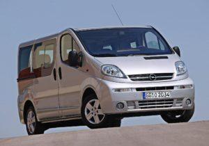 Storia. Opel Vivaro