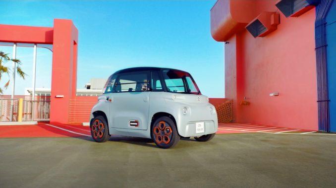Citroën svela la campagna pubblicitaria di AMI - 100% Ëlectric